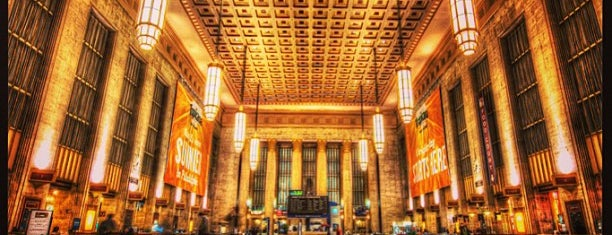 30th Street Station is one of 4sq Cities! (USA).