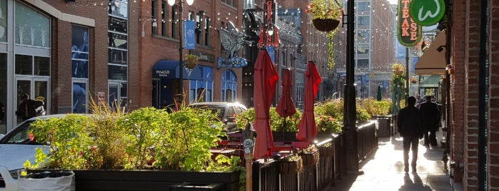 Greektown Historic District is one of Detroit Monday.