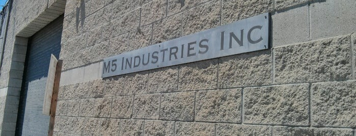 M5 (Mythbusters) Industries is one of Bucket List.