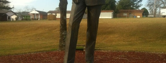 Medgar Evers Statue is one of Must-See African American Historical Places In US.