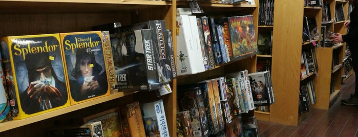 Pandemonium Books & Games is one of DigBoston's Tip List.