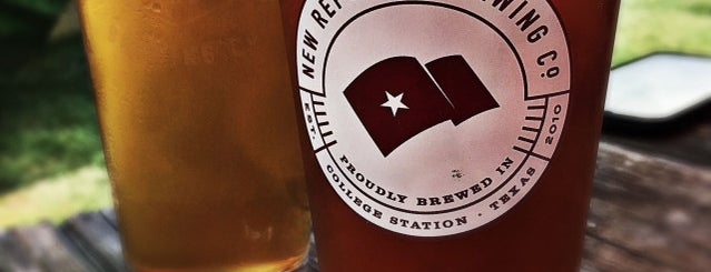 New Republic Brewing Co is one of Texas Craft Breweries.