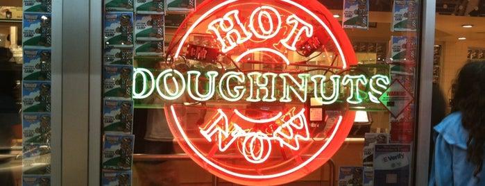 Krispy Kreme Doughnuts is one of Favorite Places.