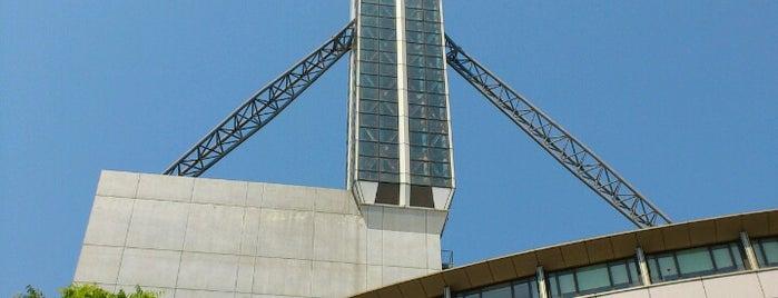 タワーホール船堀 is one of Observation Towers @ Japan.