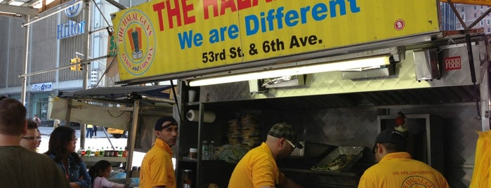 The Halal Guys is one of NYC bucket list.