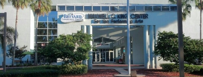 King Center for the Performing Arts is one of Frequent Check In's.