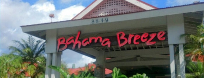 Bahama Breeze is one of Dining in Orlando, Florida.