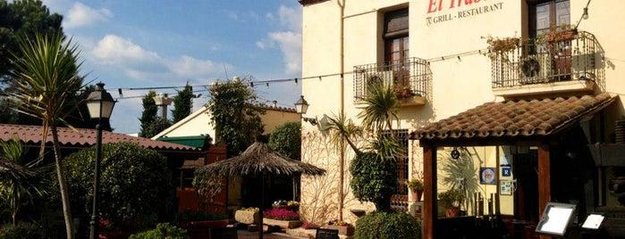 Restaurant El Trabuc is one of Maresme.