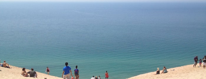 Dune Climb - Sleeping Bear Dunes is one of Fun Go-to-Spots.