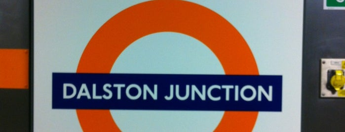 Dalston Junction London Overground Station is one of Railway stations visited.
