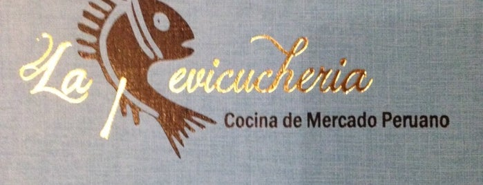 La Cevicucheria is one of lugares madrid.