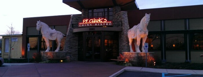 P.F. Chang's is one of Restaurant's I like.....
