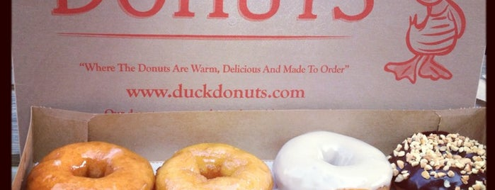 Duck Donuts is one of OBX.