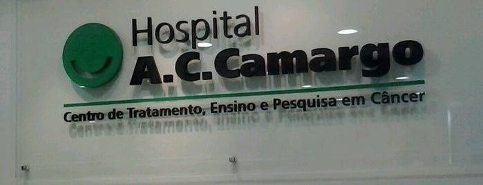 A.C. Camargo Cancer Center is one of Por onde eu passo.,,.