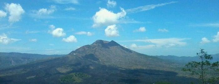 Mount Batur is one of Bali.