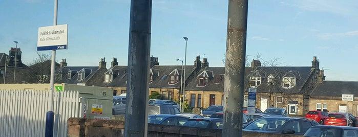 Falkirk Grahamston Railway Station (FKG) is one of East Coast Network.