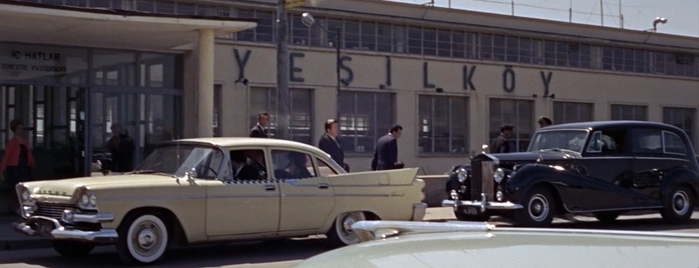 Istanbul Atatürk Airport (IST) is one of From Russia with Love (1963).