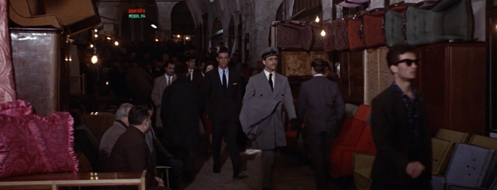 Grand Bazaar is one of From Russia with Love (1963).