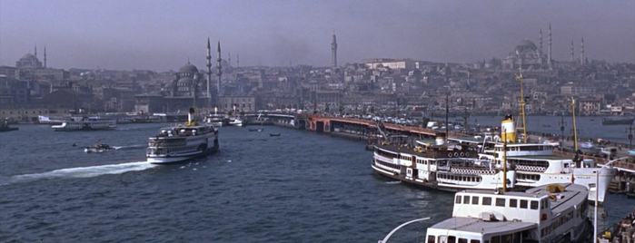 Galata Bridge is one of From Russia with Love (1963).