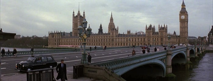 Palace of Westminster is one of Die Another Day (2002).
