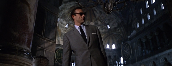Hagia Sophia is one of From Russia with Love (1963).