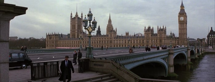 Westminster Bridge is one of Die Another Day (2002).