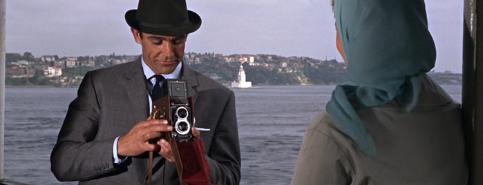 Bosphorus is one of From Russia with Love (1963).