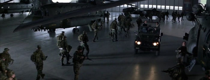 RAF Odiham is one of Die Another Day (2002).