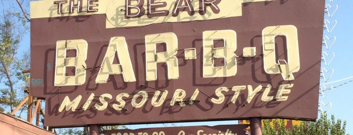 The Bear Pit Barbeque is one of Oldest Los Angeles Restaurants Part 1.