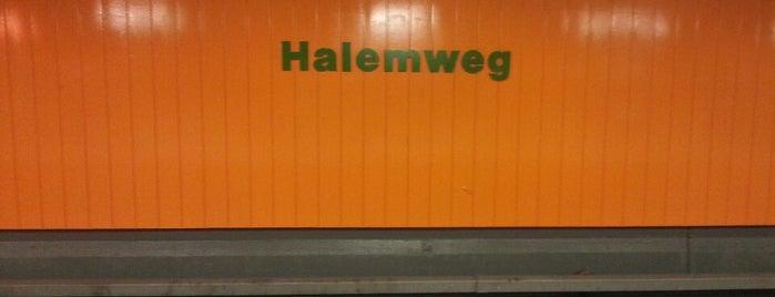 U Halemweg is one of U-Bahn Berlin.