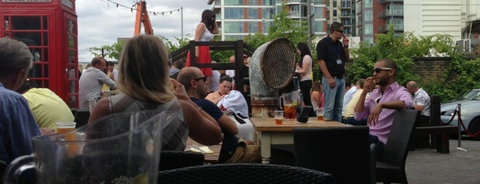 The Ship is one of London's Best Beer Gardens.
