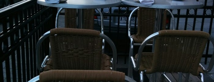 Taverne Gaspar is one of Best Terrasses in Montreal.