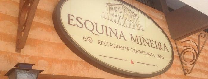 Esquina Mineira is one of Restaurantes.