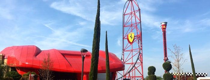 Ferrari Land is one of Europa.