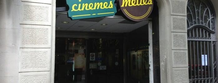 Méliès Cinemes is one of Barcelona Moderna.