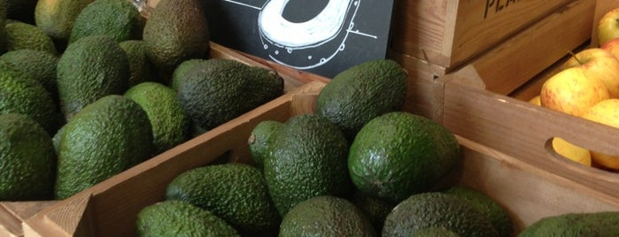 Planet Organic is one of London gluten free.