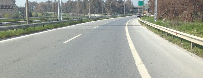 Izmir - Aydin Motorway is one of İzmir - Aydın Rotası.