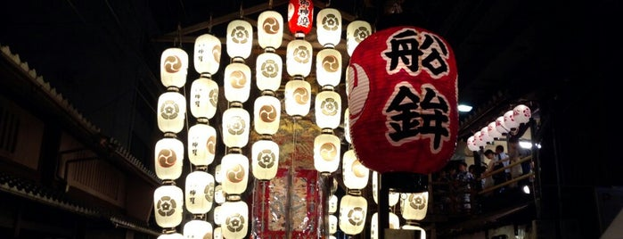 大船鉾 is one of 祇園祭 - the Kyoto Gion Festival.
