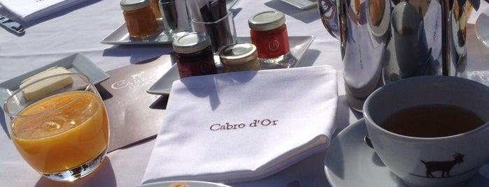 Restaurant La Cabro d'Or is one of Getaway | Hotel.