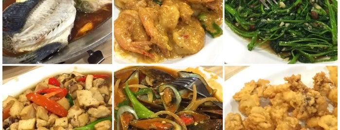 Kapal Laut Seafood Restaurant is one of Tempat Makan Enak.