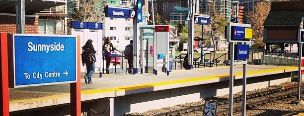 Sunnyside (C-Train) is one of C train stops.