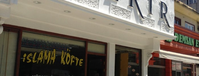 Köfteci Hacıbekir is one of Gourmet!.