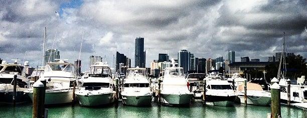 Rickenbacker Marina is one of Miami.