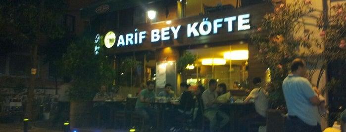 Arif Bey Köfte is one of Vedat Milor İstanbul 100 Lokanta.