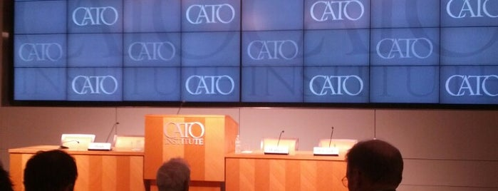 The Cato Institute is one of DC's favorites.
