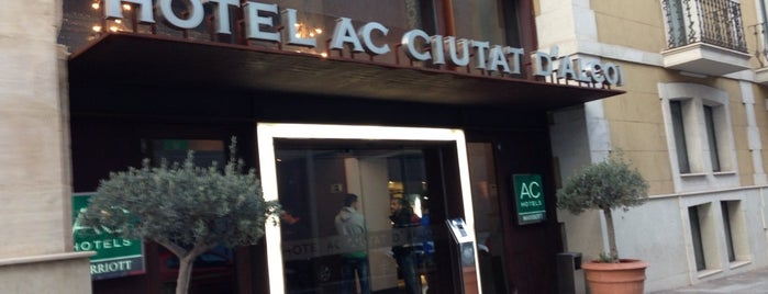 AC Hotel Ciutat D'Alcoi is one of The Best Of....
