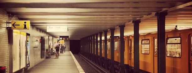 U Kaiserdamm is one of U-Bahn Berlin.