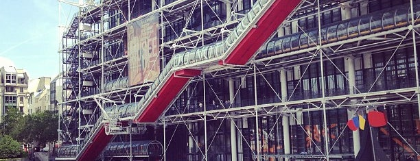 Centre Pompidou – Musée National d'Art Moderne is one of Paris, FR.
