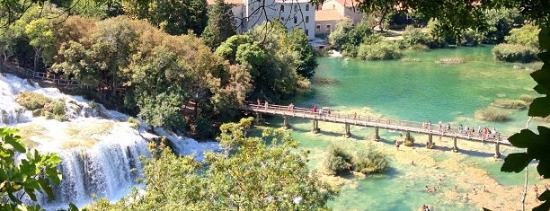 Krka National Park is one of Expédition croate.