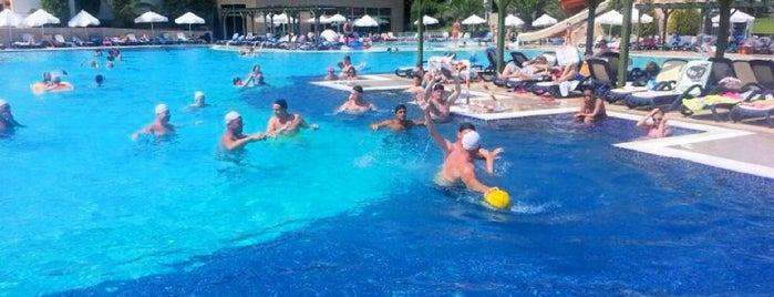 Pool @ Asteria Sorgun Resort is one of Turkiye Hotels.